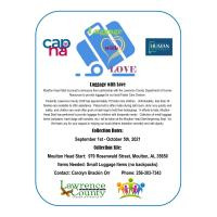 Luggage with Love Drive - Moulton Head Start/DHR Foster Care Division