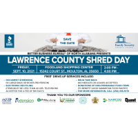 Lawrence County Shred Day