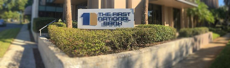 The First National Bank of Mount Dora