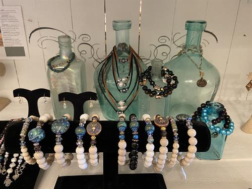 Jewelry by TFC's showroom is a special place to shop with unique jewelry pieces and gorgeous displays