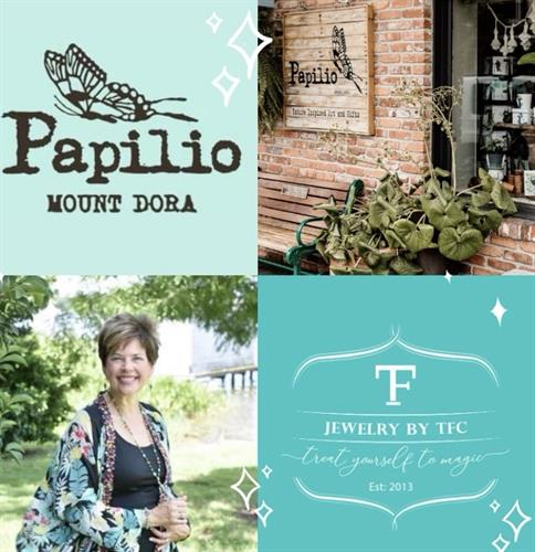 Find Jewelry by TFC inside of Papilio at 439 N Donnelly Street Mount Dora, FL
