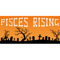 Pisces Rising Halloween Deck Party