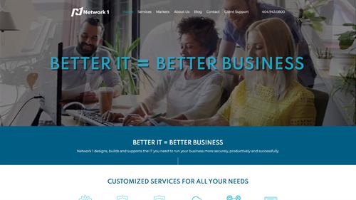 IT Consulting Site