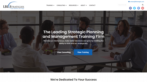 Business Consulting Site