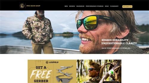 Pro Gear Outdoors Site