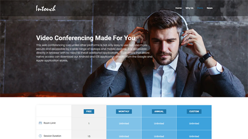 4k Video Conferencing Site