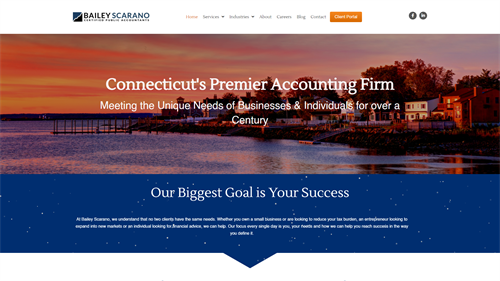 Accounting Firm Site