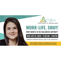 DWIB: Work-life, sway! Who wants to be balanced anyway?