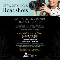 Dufferin Women in Business Presents: Networking & Headshots