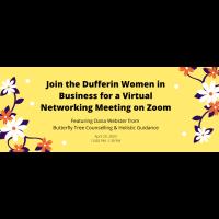 Dufferin Women in Business Virtual Chat