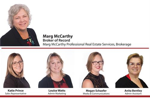 The Marg McCarthy Real Estate Team