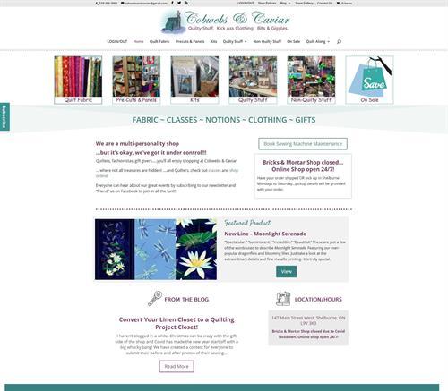 Shelburne retail business goes online