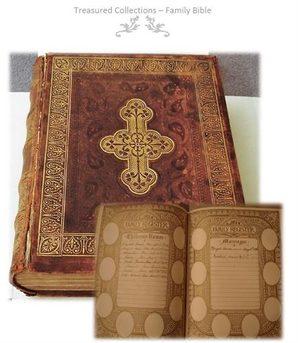 Digitalize the contents of your family Bible to share across your family
