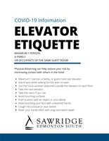 Pandemic Elevator Etiquette