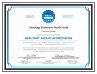 2021 GBAC ACCCREDITED HOTEL Global BIORISK Advisory Council