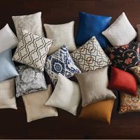 We also do custom pillows! You can make them match your window treatments!