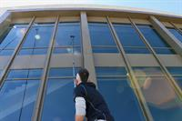 Waterfed Pole Window Cleaning