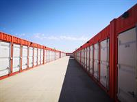 Weather proof units are made of solid steel metal containers to protect your possessions.