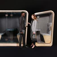 Loop Phone Booth | Office Pod and Meeting Room | Loop Solo QS and Loop Cube Custom