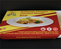 Chicken Coconut Noodle - Ready Eat Frozen Product