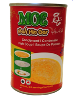 MohHinGar (Condensed Fish Soup) - Easy to Prepare Soup