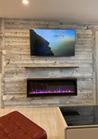 Wood Wall In Elerslie