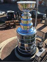 Stanley Cup replica at United Sport & Cycle polished by Spectrum