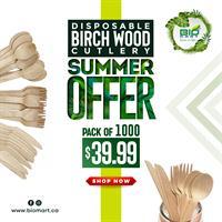 Birch Wood Cutlery