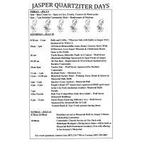 Jasper Quartziter Days