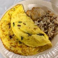 """""""Build Your Own"""" Omelet Breakfast (Drive-Thru Only)"""