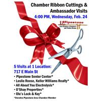 Chamber Ambassador Visits & Ribbon Cuttings