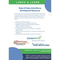 """Chamber Lunch & Learn:  """"Free Resources to Find, Develop, & Retain Talent"""""""