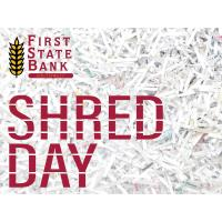 Shred Day at First State Bank Southwest