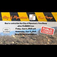 City Tree Dump Closed