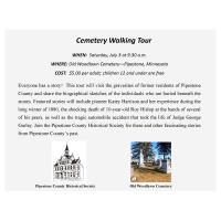 Cemetery Walking Tour
