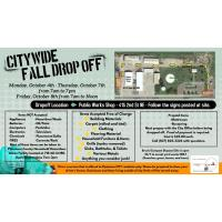 Citywide Fall Drop-Off Days