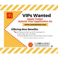 VIPs Wanted