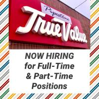 Full-Time & Part-Time Positions
