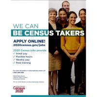 U.S. Census Takers Needed