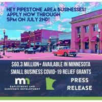 MN Small Business COVID-19 Relief Grant Applications due by 5 PM on July 2