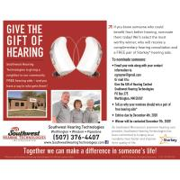 Give the Gift of Hearing - Nominations Due Dec. 4