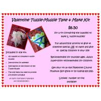Valentine Tussie-Mussie Take & Make Kits Available