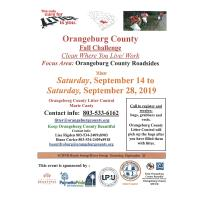 Orangeburg County Fall Challenge