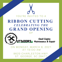 Ribbon Cutting for DC Outdoors, LLC Grand Opening