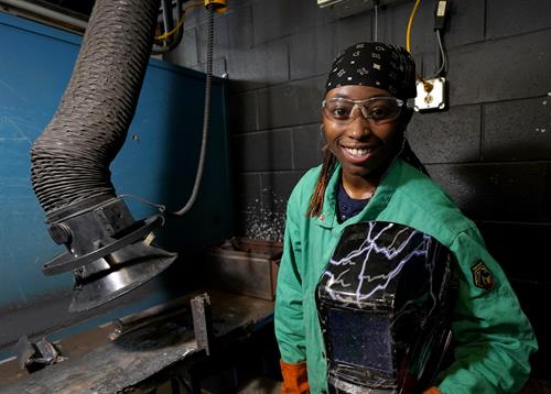 Alaryia Jackson, Welding Technology