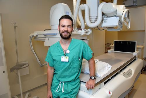 Chris Foley, Radiologic Technology