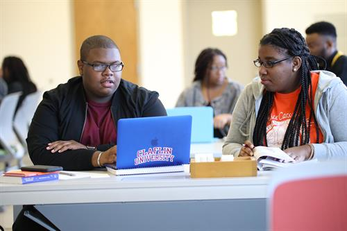 Claflin University students master complex concepts and skill sets, conduct original research, and integrate principles from a diverse range of ideas.