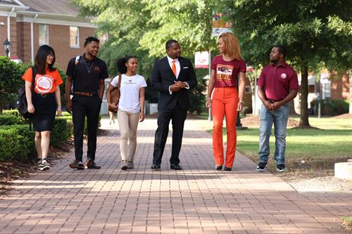 Vision Statement: Claflin University will be recognized as a leading 21st Century institution of higher education that develops a diverse and inclusive community of globally engaged visionary leaders.