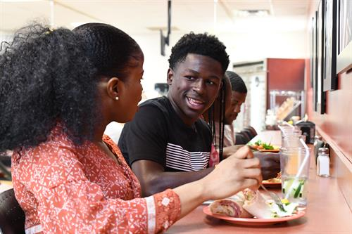 Living and working together on the Claflin University campus enhances the family atmosphere for which Claflin is renowned.
