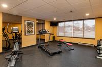 Fitness Area available 24 hours.
